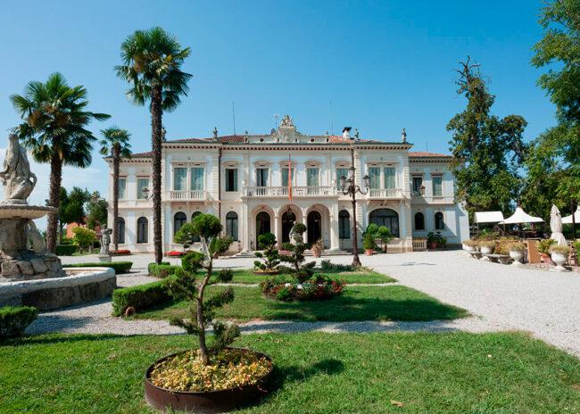 facciata villa ducale dolo